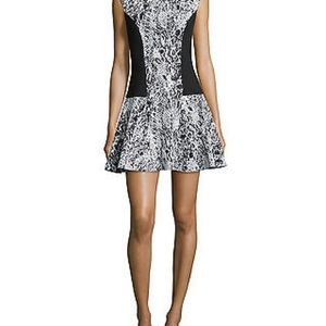 Ted Baker Liri Dress Snake Print Jacquard